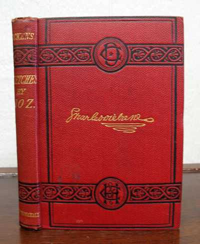 London: Chapman & Hall, (n. d.). The 'Charles Dickens' edition, ca 1880s. Original red publishers' c...