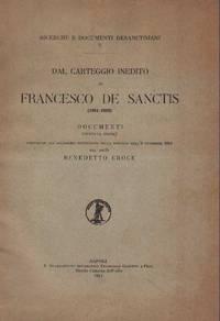 DAL CARTEGGIO INEDITO DI FRANCESCO DE SANCTIS (1861-1883).