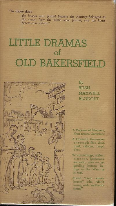Los Angeles: Carl A. Bundy Quill & Press, 1931. First Edition. Signed presentation from Blodget on t...