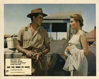 image of Nor the Moon by Night [Elephant Gun] (Collection of 6 British front-of-house cards from the 1958 film)