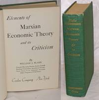 image of Marxian Economic Theory and Its Criticism