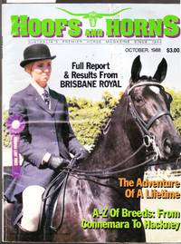 Hoofs and Horns Magazine October 1988
