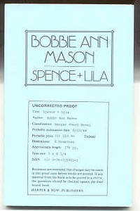 NY: Harper & Row, 1988. Uncorrected proof for the first edition. Printed wraps. Inscribed by Mason o...