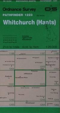 Whitchurch (Hants.) Pathfinder map sheet 1223