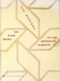 100 RARE BOOKS ON 100 DIFERENT SUBJECTS