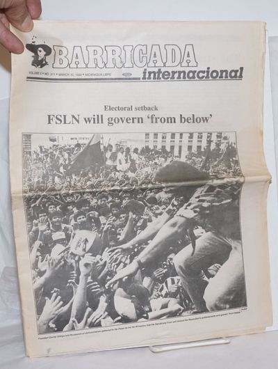 San Francisco: Barricada USA, 1990. One issue, 16 pp., 8.5x11 inches, illust. throughout, wraps prin...