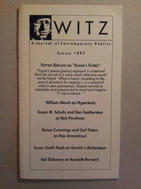 Witz: A Journal of Contemporary Poetics, Spring 1997