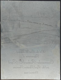 image of Printing plate from the Christmas card sent in 1929 from the Byrd Aviation Association