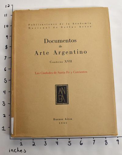 Buenos Aires: Publicaciones de la Academia Nacional de Bellas Artes, 1945. Paperback. Good. Cover an...