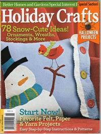 image of Holiday Crafts 2011 - Better Homes and Gardens Special Interest Publications