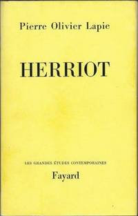 Herriot by Lapie Pierre Olivier - Paperback - 1967 - from LES TEMPS MODERNES and Biblio.com