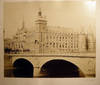 View Image 1 of 4 for Circa 1870 Large Format Photograph of Pont au Change Bridge with Conciergerie in the Background By A... Inventory #25408