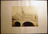 View Image 2 of 4 for Circa 1870 Large Format Photograph of Pont au Change Bridge with Conciergerie in the Background By A... Inventory #25408
