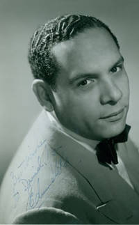 Signed Photograph of bandleader Edmundo Ros