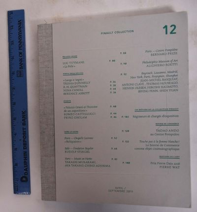 Paris: Pinault Collection, 2019. April/Septembre 2019. Softcover. VG. Putty wraps with french flap a...