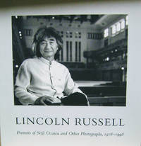 Lincoln Russell:  Portraits of Seiji Ozawa and Other Photographs, 1978-1998