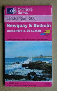Ordnance Survey Map. Newquay & Bodmin. Camelford & St Austell. Sheet 200.