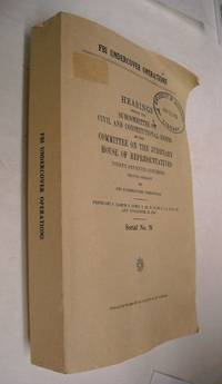 FBI undercover operations: report of the Subcommittee on Civil and Constitutional Rights of the...