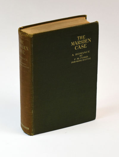 THE MARSDEN CASE: A Romance