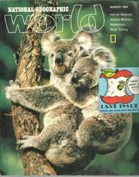 NATIONAL GEOGRAPHIC WORLD MAGAZINE AUGUST 1982