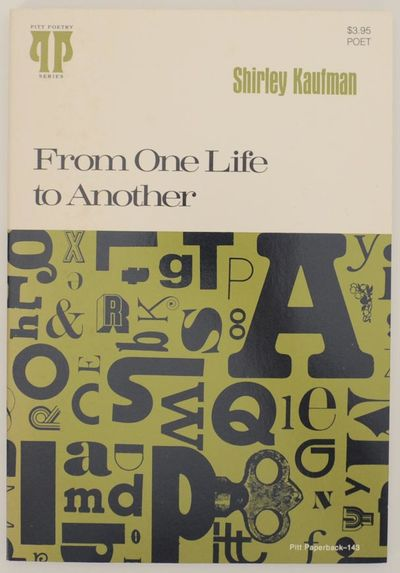 Pittsburgh, PA: University of Pittsburgh Press, 1979. First edition. Softcover. 69 pages. A review c...