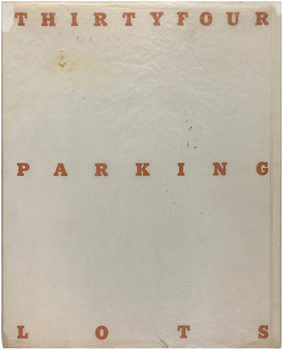 (Los Angeles): Edward Ruscha, 1967. Very faint discoloration to the covers along the bottom edges, o...