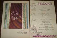image of Gala Dinner Menu and Breakfast Menu