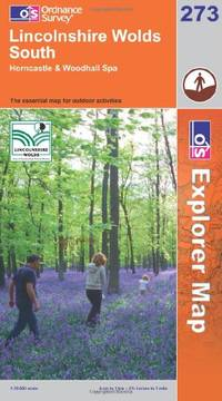 image of Lincolnshire Wolds South (Explorer Maps) (OS Explorer Map Active)