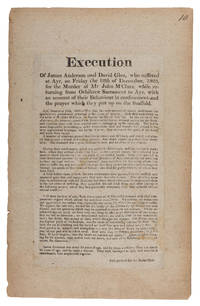 Execution of James Anderson and David Glen, Who Suffered at Ayr...