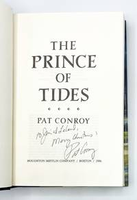 THE PRINCE OF TIDES by  Pat Conroy  - Signed First Edition  - 1986  - from Type Punch Matrix (SKU: 40126)