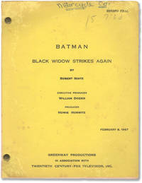 image of Batman: Black Widow Strikes Again (Original screenplay for the 1967 television episode)