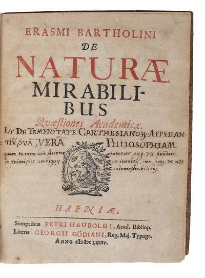 De Naturae Mirabilibus. Quaestiones...