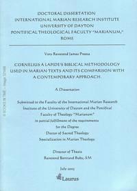 321488: James Presta Doctoral Dissertation : Signed by Author