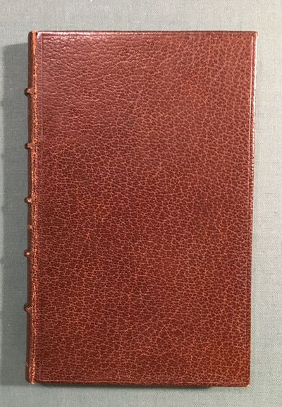 London: Moxon, 1855. First. hardcover. near fine. Thin 8vo, rebound in full brown crushed morocco wi...
