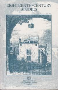 Eighteenth-Century Studies: Volume 26, No 1, 1992