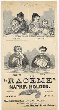 Illustrated Handbill or Broadside - The Raceme Napkin Holder