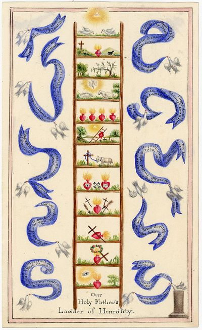 Watercolor - Our Holy Father's Ladder...