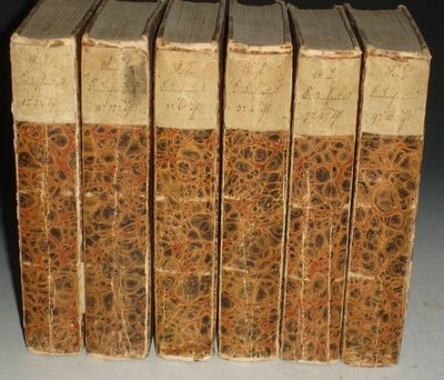 Reuglingen: Erzoinger, 1818. Small Octavo. 12 volumes in 6, over 3100 pages with engravings of histo...