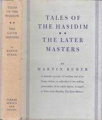 Tales of the Hasidim. The Late Masters by  Martin: Buber - First Edition - from Paul Brown Books (SKU: 29152)