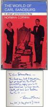 The World of Carl Sandburg: A Stage Presentation