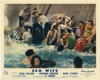 image of Sea Wife (Collection of 8 British front-of-house cards from the 1957 film)