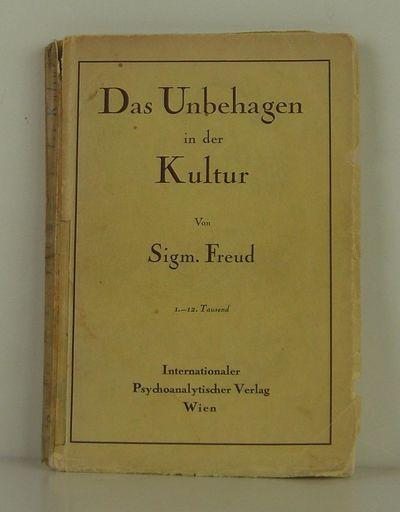 Internationaler Psychoanalytischer Verlag Wien, 1930. 1st Edition. Soft cover. Very Good/No Jacket. ...