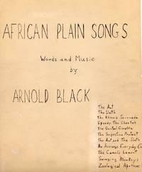 African Plain Songs [SCORE]