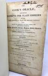 View Image 2 of 2 for The COOK'S ORACLE Containing RECEIPTS FOR PLAIN COOKERY on the Most Economical Plan For Private Fami... Inventory #1354
