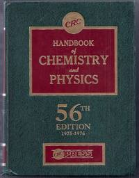 CRC Handbook of Chemistry and Physics.  A Ready-Reference Book of Chemical and Physical Data....