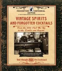 image of Vintage Spirits_Forgotten Cocktails
