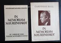 image of In Memoriam Max Reinhardt
