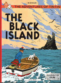 image of Adventures of Tintin: THE BLACK ISLAND, The.