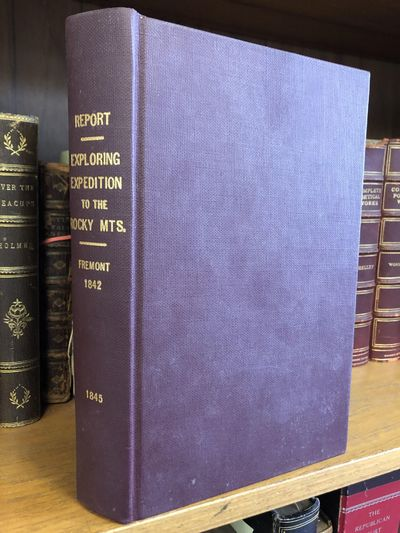 Washington, DC: Blair and Rives, 1845. First Thus. Hardcover. Octavo, 583 pages; G+; in maroon libra...