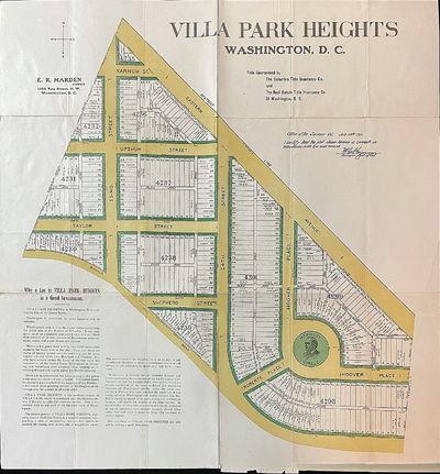Land Development Plat and Promotion...